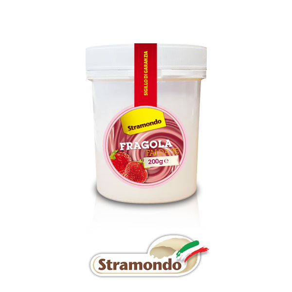 Pasta Gelato fragola - Prodotti per dolci - Tortemania Valderice