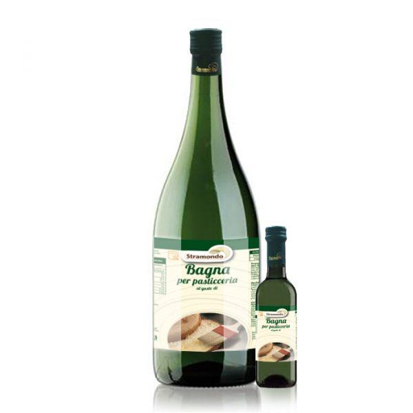 Bagna analcolica vari gusti - Prodotti per Dolci - Tortemania - Valderice