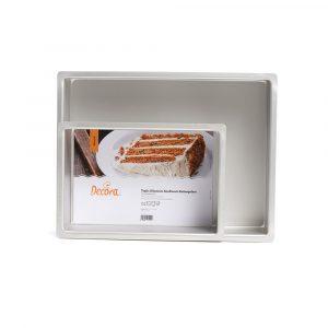 Teglie professionali rettangolari - Prodotti per dolci - Tortemania Valderice