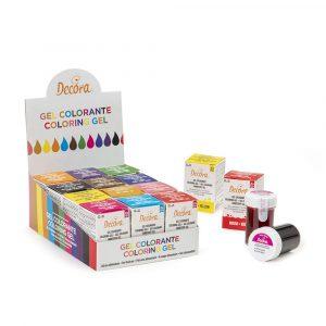 Gel coloranti colore intenso - Prodotti per dolci - Tortemania Valderice
