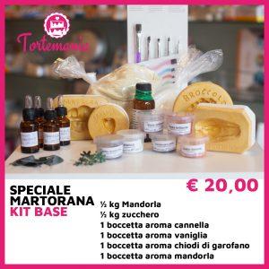 Kit Martorana Base - Tortemania | Prodotti per Dolci | Valderice