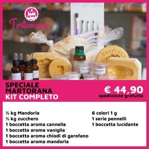 Kit Martorana Completo - Tortemania | Prodotti per Dolci | Valderice