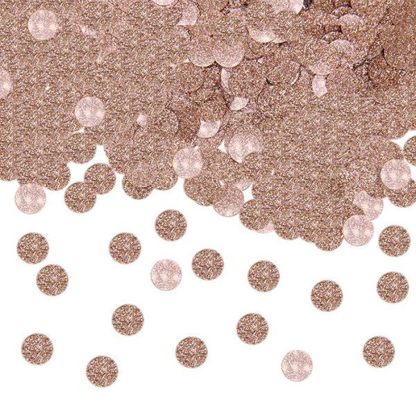 coriandoli rosa gold glitter